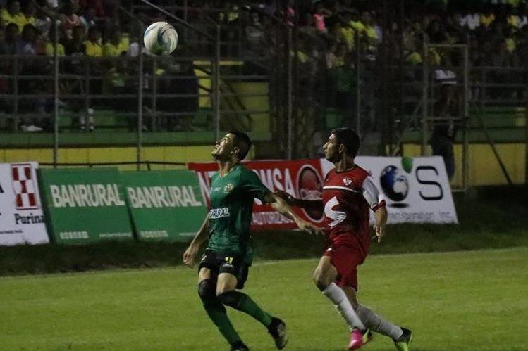 Guastatoya se presentó en duelo amistoso el miércoles pasado. (Foto Prensa Libre: Hugo Oliva)