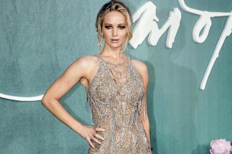 Jennifer Lawrence promociona su nueva película Mother!. (Foto Prensa Libre: AP)