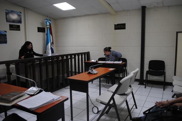 Tribunal donde se dictó la sentencia en Quetzaltenango. (Foto Prensa Libre: María José Longo).