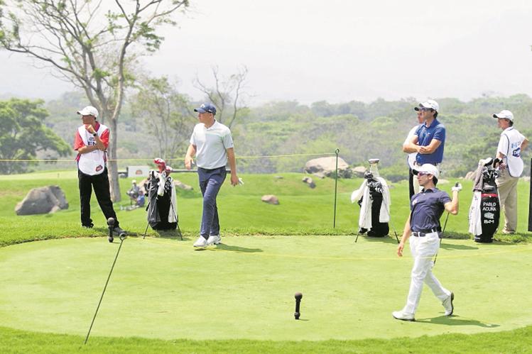 Los mejores golfistas del área se reunirán en el país. (Foto Prensa Libre: Hemeroteca PL)