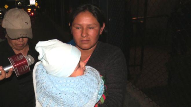 Maribel Musaja se realizó una prueba de paternidad en julio de este año y descubrió que no es la madre biológica de Mateo. CORTESÍA DIARIO LA REPÚBLICA