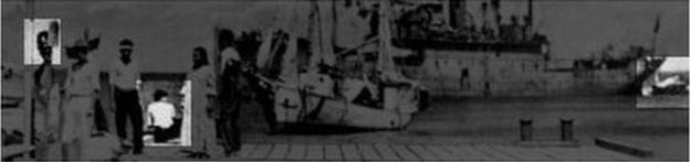 ¿Noonan, Earhart y el avión? ARCHIVOS NACIONALES DE EE.UU.