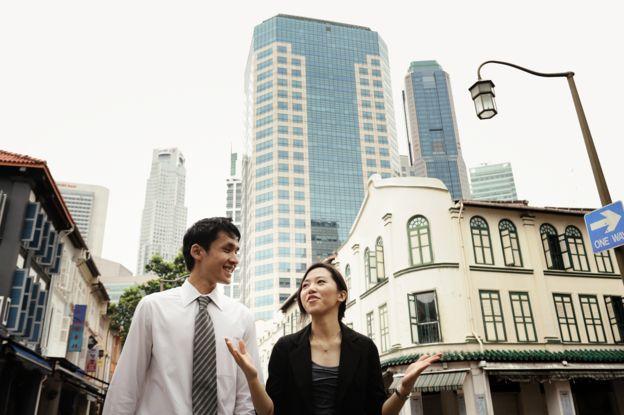 Singapur quiere convertirse en la ciudad del futuro. (CARLINA TETERIS/GETTY IMAGES)
