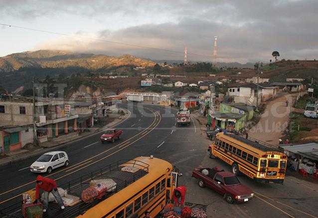Ruta Los Encuentros, en la actualidad. (Foto: Hemeroteca PL)