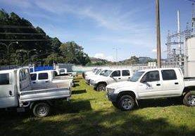 Todos los vehículos estarán a la vista de los interesados del 21 al 25 de agosto en el INDE. (Foto Prensa Libre: Hemeroteca)