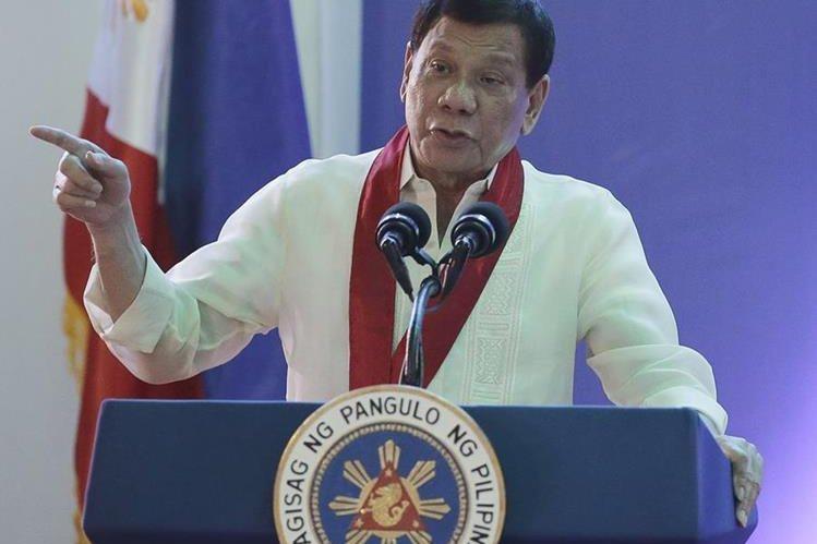 Insultos de Duterte avivan tensiones por ensayos nucleares. (Foto Prensa Libre: AP)