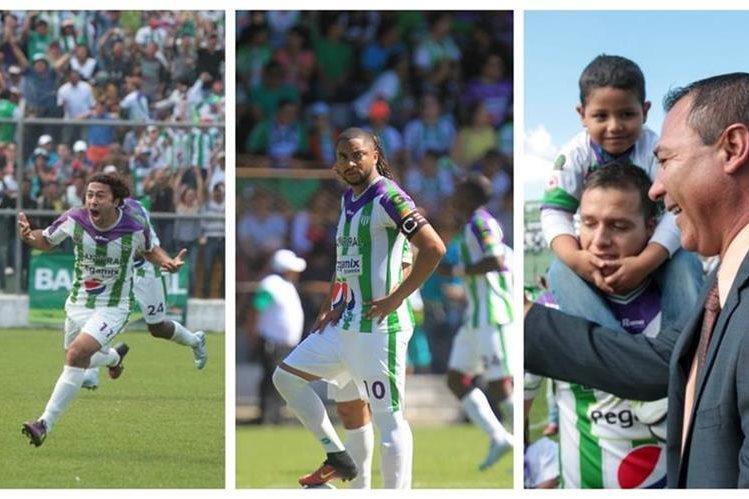 Agustín Herrera, Manfred Russel y Mauricio Tapia han sido figuras con Antigua. (Foto Prensa Libre).