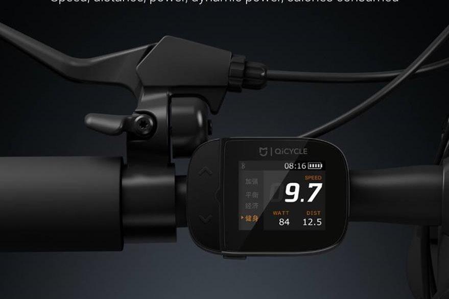 En el timón, una pantalla muestra varios datos sobre el recorrido —distancia, calorías, tiempo, etc.—. (Foto Prensa Libre: Xiaomi).