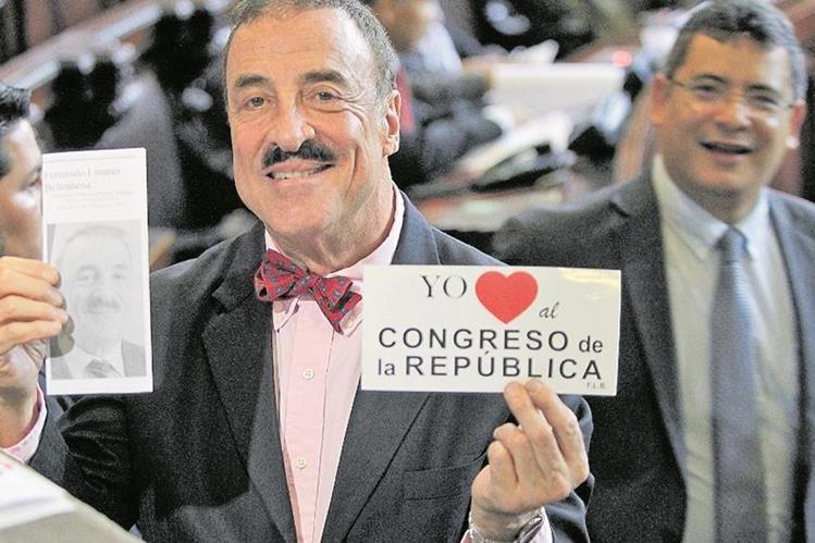 Corte Suprema de Justicia retira inmunidad a congresista del PAN, Fernando Linares Beltranena. (Foto Prensa Libre: Hemeroteca PL)