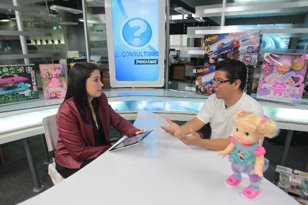 Pamela Saravia entrevista a José Juárez, quien habla sobre cómo elegir el juguete ideal.
