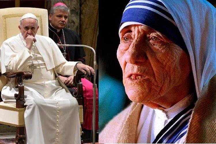 El papa Francisco reconoció un milagro atribuido a la Madre Teresa de Calcuta.