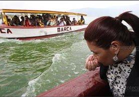 """La exvicepresidenta Roxana Baldetti fue criticada por haber promovido en 2015 fórmula """"mágica"""" para lago de Amatitlán. (Foto: Hemeroteca PL)"""