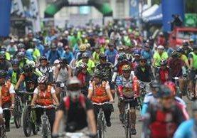 La actividad espera reunir a decenas de ciclistas. (Foto Prensa Libre: Tomada de Facebook de UCCG)