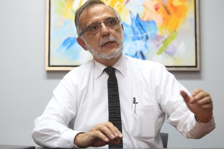 Entrevista a Ivan Velasquez, comisionado de la Cicic. (Foto Prensa Libre: HemerotecaPL)