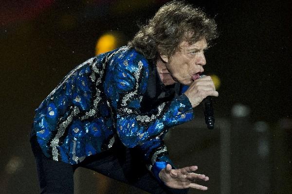 Rolling Stones ofrecieron un espectáculos cargada de buena música. (Foto Prensa Libre: EFE)