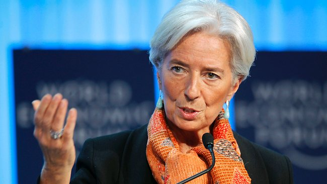 Christine Lagarde, directora del Fondo Monetario Internaciola (Foto Prensa Libre: s3.amazonaws.com)