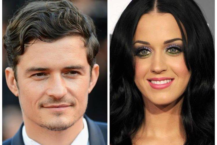 Orlando Bloom y Katy Perry anduvieron juntos tiempo atrás. (Foto Prensa Libre: Hemeroteca PL)