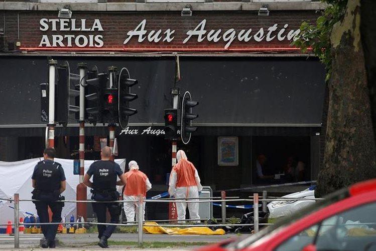 Al menos cuatro muertos en un atentado en Lieja