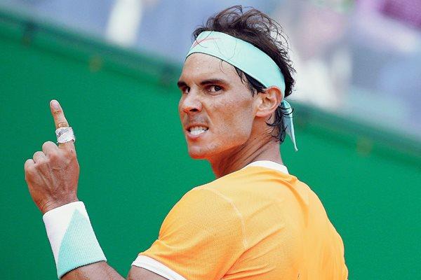 Rafael Nadal espera recuperar el tiempo perdido y subir más en el ranquin de la ATP. (Foto Prensa Libre: AFP)