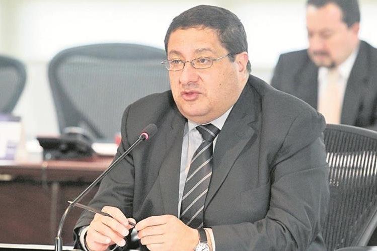 Dorval Carías, dimitió de su cargo esta noche. (Foto Prensa Libre: Hemeroteca PL)