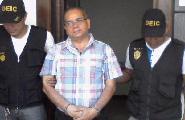 Luis Barilas Vásquez, fue capturado este lunes por peculado. (Foto Prensa Libre: Hemeroteca PL)