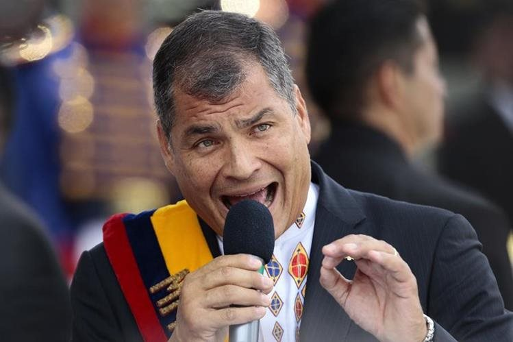 Rafael Correa, presidente de Ecuador, dice que triunfo de Trump sería positivo para Latinoamérica. (Foto Prensa Libre: EFE).