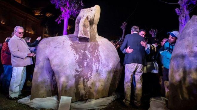 """Al principio casi todos pensaban que se trataba de Ramses """"el grande"""". REUTERS"""
