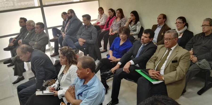 EL juez Walter Villatoro, impuso fianzas millonarias a exdirectivos del Bantrab en noviembre de 2016. (Foto Prensa Libre: Hemeroteca)