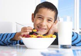 El desayuno debe aportarle al niño energía y nutrientes para comenzar su día.