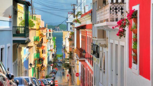 Coloridas casas en San Juan. ISTOCK / GETTY IMAGES
