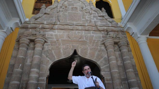 Poetas de todo el mundo llegan todos los años a Nicaragua para participar en el Festival Internacional de Poesía de Granada. AFP