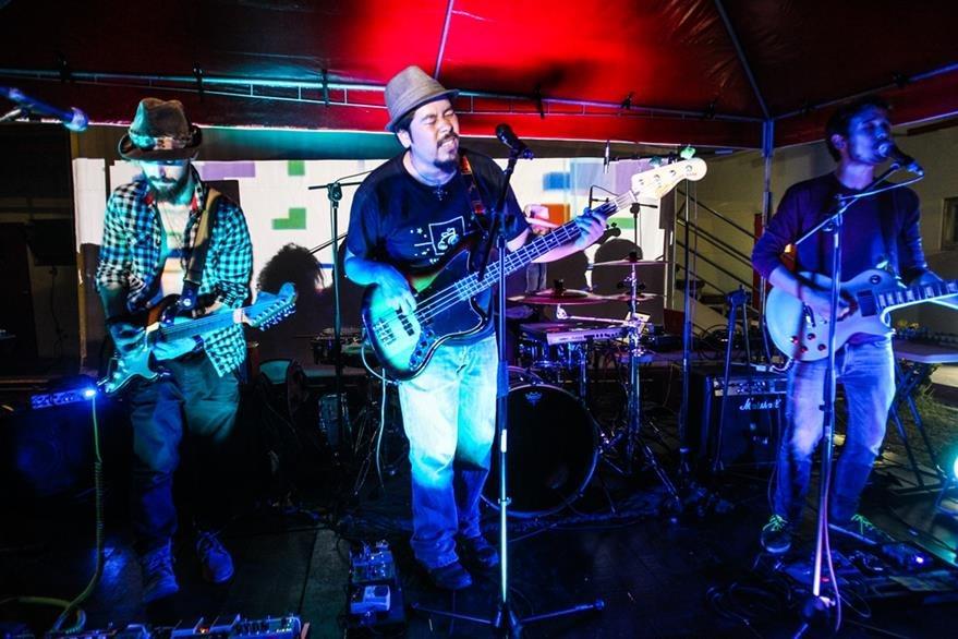 La agrupación guatemalteca Filoxera promociona su álbum Just Make Music. (Foto Prensa Libre: Keneth Cruz)
