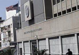 Vista de la embajada de Estados Unidos en Tel Aviv, Israel. (EFE).