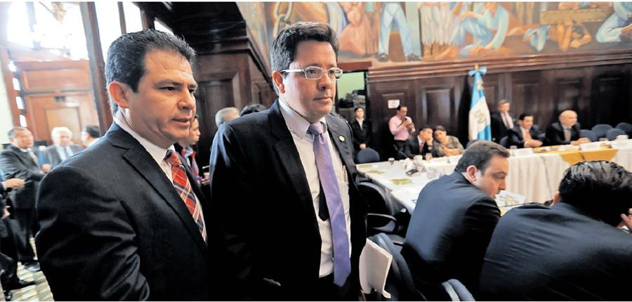 Si FCN-Nación logra consensos y consigue levantar mañana la sesión permanente podrían haber sesiones el miércoles y jueves próximos.(Foto Prensa Libre: Hemeroteca PL)