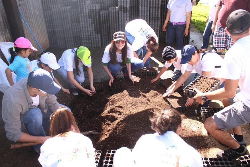 Los voluntarios del proyecto El día del millón de árboles podrán encontrarse con otros guatemaltecos que desean reforestar el país. (Foto Prensa Libre: Gildaneliz Barrientos)