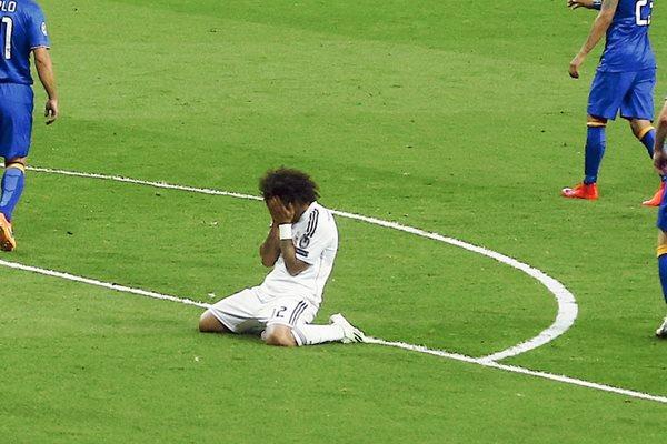 Marcelo no podrá representar a su selección. (Foto Prensa Libre: Hemeroteca PL).