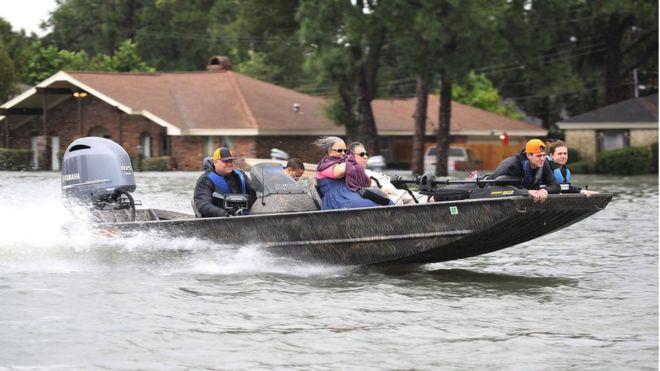 Texas ha registrado unas inundaciones sin precedentes desde el pasado fin de semana. GETTY IMAGES