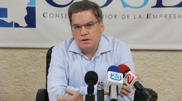 José Adán Aguerri, presidente del Consejo Superior de la Empresa Privada (Cosep) de Nicaragua. (Foto Prensa Libre: internet)
