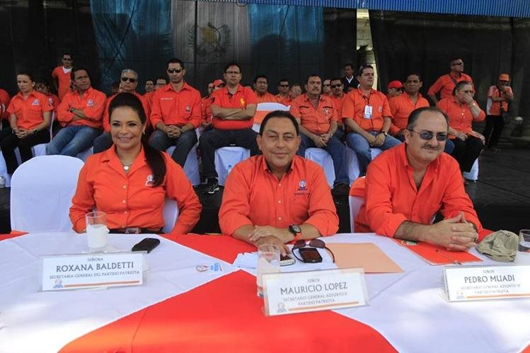 El Partido Patriota quedó cancelado en enero pasado.(Foto Prensa Libre: Hemeroteca PL)