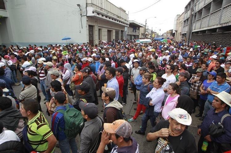 Maestros lograron un plan de retiro que será financiado por los contribuyentes. (Foto Prensa Libre: Hemeroteca PL)