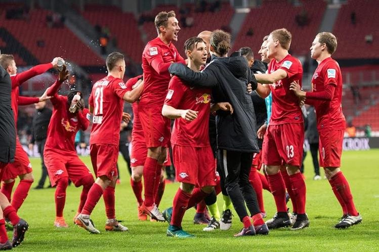 El sorpresivo Leipzig es el líder de la Bundesliga con 27 puntos, 3 más que el Bayern y 6 de diferencia con el Borussia Dortmund (Foto Prensa Libre: Hemeroteca PL)
