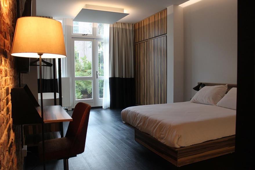 Las habitaciones y las otras áreas del hotel tienen un aspecto moderno (Foto Prensa Libre: The Arcade Hotel).