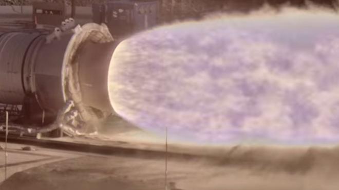La nueva cámara permite capturar todos los detalles de las llamas que emiten los cohetes durante su lanzamiento. NASA