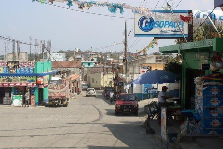Pachalum, Quiché, luce desolado, debido a que muchos de sus habitantes migraron a Estados Unidos. (Foto Prensa Libre: Óscar Figueroa)