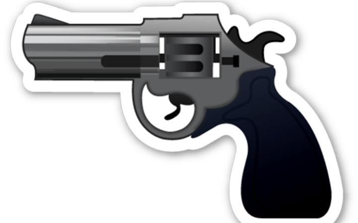 Emoji de pistola. (Foto: Hemeroteca PL).