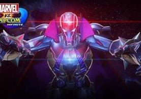 UltronSigma será el villano de la fusión Marvel Capcom. La versión Deluxe del juego lo incluye como personaje para jugar. (Foto Prensa Libre: Marvel y Capcom).