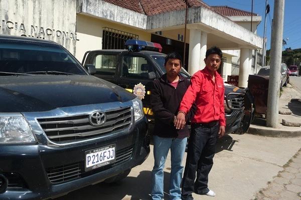 """<p>Los dos presuntos secuestradores permanecen en el Centro de Administración de Justicia de Santa Eulalia. (Foto Prensa Libre: Mike Castillo) <br _mce_bogus=""""1""""></p>"""