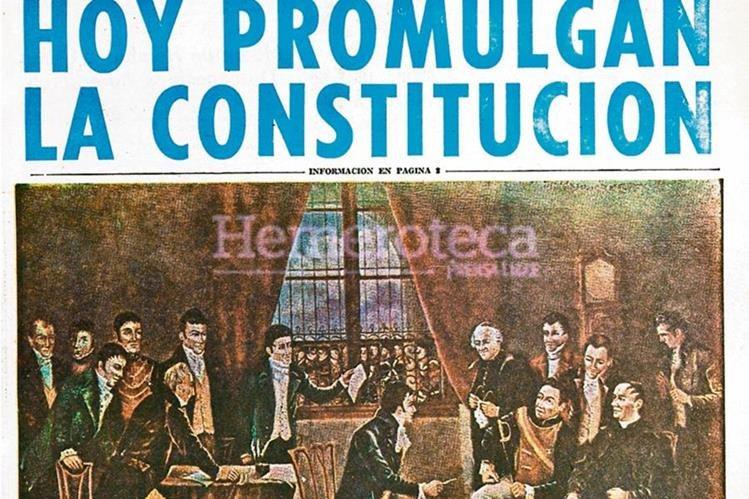 Portada del 15 de septiembre de 1965, referente a la promulgación de la Constitución. (Foto: Hemeroteca PL)