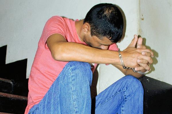 Manuel Antonio  Anderson Gómez, fue detenido por agentes de la PNC, en Palín, Escuintla. (Foto Prensa Libre: Carlos Paredes)