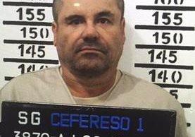 Imagen de archivo del Chapo Guzmán, el mexicano que llegó a ser uno de los narcos más poderosos del mundo. (Foto Prensa Libre: AP).